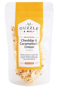 Cheddar & Caramelised Onion Gourmet Popcorn