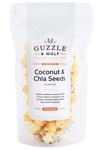Coconut & Chia Seeds Gourmet Popcorn